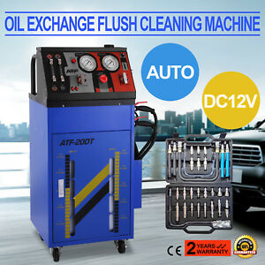 Transmission Fluid Oil Exchange Flush Cleaning Machine 12v Auto Cleaner Kit