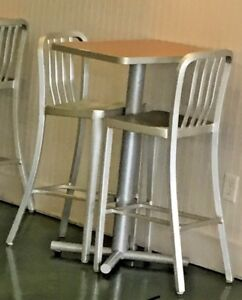 10 Aluminum Bar Stools 1 000 New In 2012 All Tables Already Sold