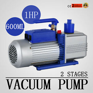 12cfm 2 Stages 1hp Refrigerant Vacuum Pump Stage Ac Conditioning Refrigeration
