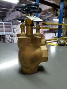 2 Nibco Angle Valve Bronze Class 150 Threaded T 335 y