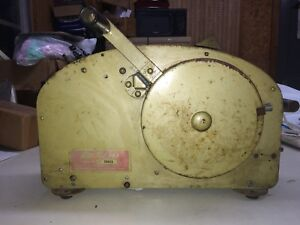 Vintage Better Pack Model 333 Wet Tape Dispenser For Parts Or Restoration