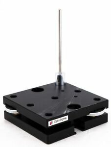Optosigma Optical 65mm X 65mm Table Two Axis Tilt Stage Ais Square Platform