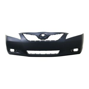 New Front Bumper Cover For Toyota Camry Black Le Xle Model