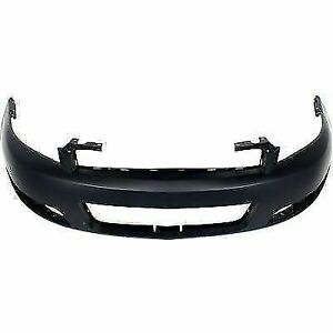 New Front Bumper Cover For Chevy Impala Black Lt Model