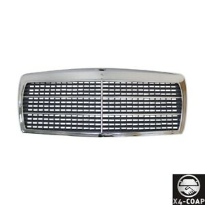 New Front Grille For Mercedes Benz 190e 190d Black