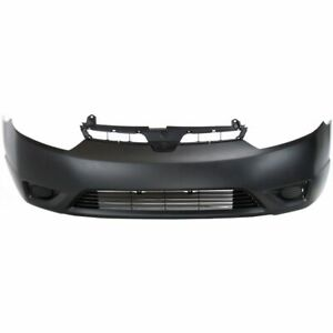 New Front Bumper Cover For Honda Civic Black Coupe