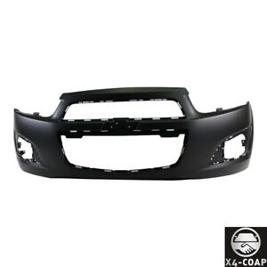 New Front Bumper Cover For Chevy Sonic Black