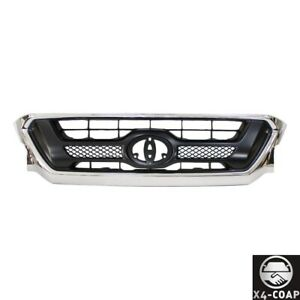 New Front Grille For Toyota Tacoma Black