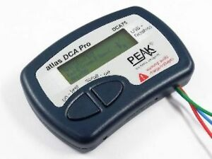 Peak Dca75 Atlas Advanced Semiconductor Analyser With Curve Tracing