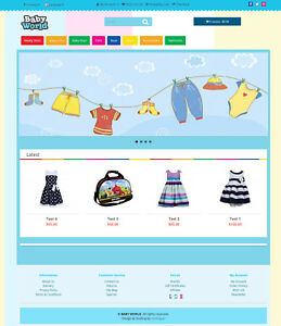 Baby Shop Website Domain Ssl Certificate Web Hosting Emails