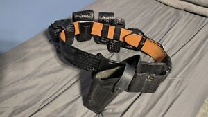 Leather Duty Belt Size 38 Complete Set