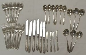 Towle Madeira Service Set For 6 Sterling Silver Flatware 35 Pieces