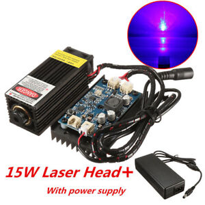 15w Laser Head Engraving Module W Ttl For Metal Marking Wood Cutting Engraver