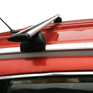 48 Aluminum Roof Rack Cross Bar Top Luggage Carrier With Lock Suv Truck