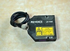 Keyence Laser Displacement Sensor Lk 030 Free Ship