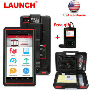 Launch Full System Obd2 Scanner Injector Coding Abs Epb Sas Dpf Bms Immobilizer