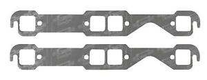 Mr Gasket 5900 Header Gaskets Small Block Chevy 1 45 X 1 48 Square Port Pair