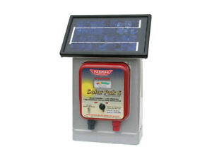 Parmak Df sp li Solar powered Electric Fence Charger 6 Volt Gel Battery