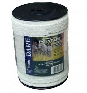 Dare 2346 Electric Fence Poly Tape 1 2 Wide X 1312