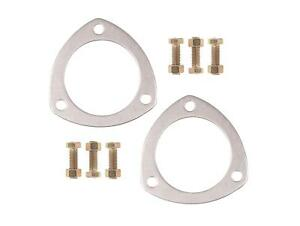 Mr Gasket 7420g 2 5 Aluminum Exhaust Collector Flange Gasket Set With Bolts