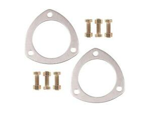 Mr Gasket 7421g 3 Aluminum Exhaust Collector Flange Gasket Set With Bolts