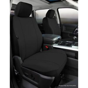 Fia Sp87 27black Seat Protector Series Front Bucket Low Back Seat Cover Black