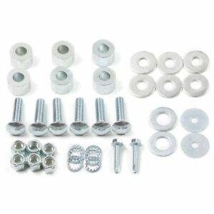 Zone Offroad Zond5801 Front Bumper Spacer Kit Fits 2003 2012 Ram 2500 3500