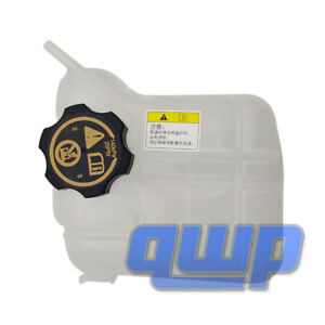 New Radiator Coolant Expansion Tank W Cap For Buick Lacrosse Regal Chevy Malibu