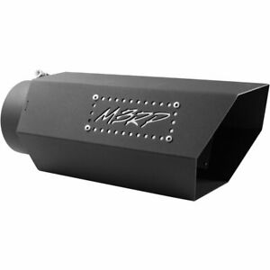 Mbrp Exhaust Muffler Tail Tip Pipe New T5166blk