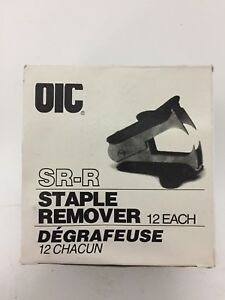 New Oic Sr r Staple Remover
