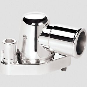 Billet Specialties 90620 Thermostat Housing Sb Ford 0 Degree Polished