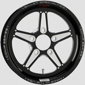 Billet Specialties Csfb35356517 Wheel Comp 5 Bolt On Black Anodized
