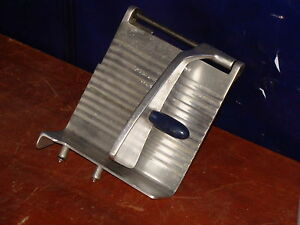 Sirman Heavy Duty Commercial Aluminum Meat Slicer Guide Holder