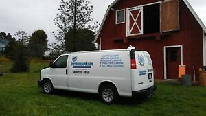 Carpet Cleaning Cargo Van With Truck Mount Machine