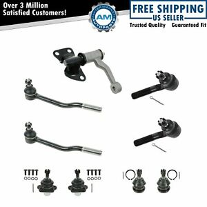 Front Tie Rod Ball Joint Idler Arm Steering Suspension Kit Set 9pc For D21 New