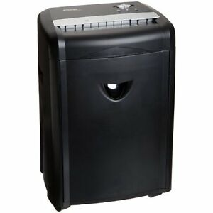 12 sheet High security Micro cut Paper Cd And Credit Card Shredder With Basket