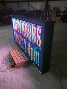 Full Color Optec Led Sign