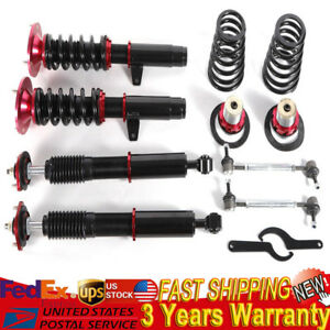 Adjustable Suspension Kit Racing Coilover For Bmw E46 3 Series 99 05 Base Sedan