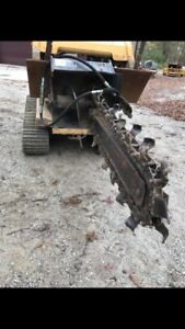 Ditch Witch Universal Skid Steer Trencher
