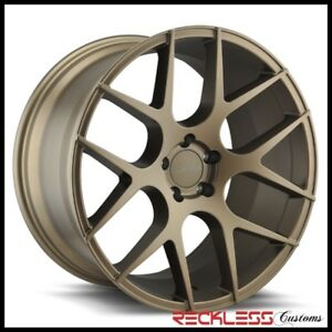 Element 20 El1187 Bronze Concave Wheels Rims Fits Dodge Charger