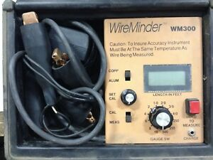 Wireminder Pci Model Wm300 Cable Length Meter Measures 10 Awg To 500 Mcm