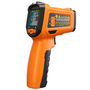 Infrared Thermometer Digital Pyrometer Ir Non Contact Temperature 50 800 c