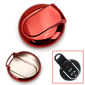 Chrome Red Tpu Key Fob Case For 14 15 Up Mini Cooper F55 F56 F60 Countryman