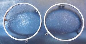 1968 1969 1970 1971 Ford Torino Gt Cobra Ranchero Headlight Rings Oem