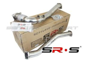 Srs Downpipe Down Pipe For 2017 2015 Wrx Manual Catted Dual O2 Bung J Pipe 18