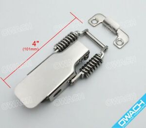Stainless Steel Draw Latch 4 3 Toggle Catch Spring Clamp For Heavy duty 200bls