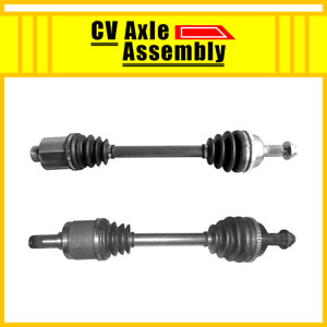 Front Pair Cv Axle 2 Pcs For 1991 1995 Acura Legend 1991 1992 1993 1994 1995