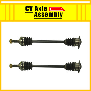 Rear Pair Cv Axle Driver Passenger 2pcs For 1991 1993 Mazda Miata 1991 1992 1993