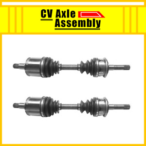 Front Pair Cv Axle 2 Pcs For 1995 2000 Toyota Tacoma With Manual Hubs Dlx