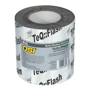 Osi 1532159 Winteq Teqflash Butyl Window Flashing Tape 6 X 75 039